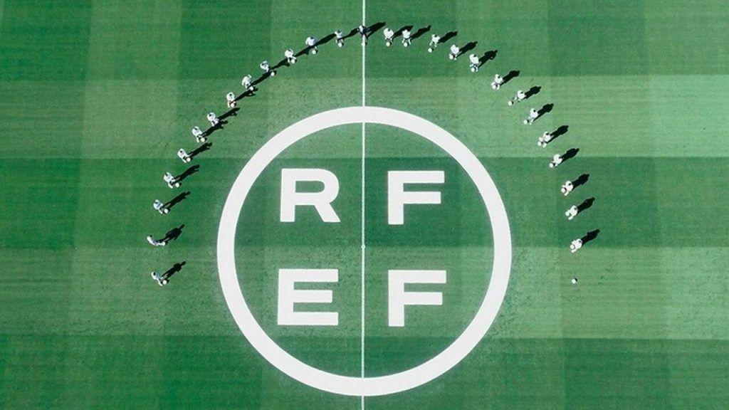 logo de la real federacion española de futbol