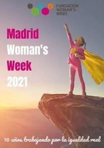 Cartel Madrid Womans week 2021